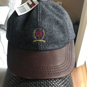 Rare Tommy Hilfiger wool baseball hat.